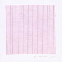 Agnes Martin, Praise, 1976