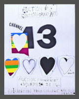 Jim Dine, I Love Public Television (for Channel 13), 1966