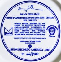 Amy Sillman, Stinco D'Agnello Brasato Con Cous Cous - Gennaro - New York City, 2001