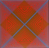 Richard Anuszkiewicz, For Jon, 1968
