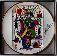 Salvador Dali, Queen of Hearts, 1967