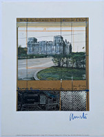 Christo, Project for Berlin: Wrapped Reichstag, 1994