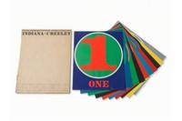 Robert Indiana, Numbers, Limited Edition Portfolio of 10 Silkscreens, (Sheehan 46-55), 1968
