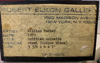 William Tucker, Untitled Constructivist Sculpture, 1979