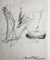 Mark di Suvero, Study for Motu Viget , ca. 1977
