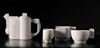 Kasimir Severinovich Malevich, Suprematist Tea Service (Limited Edition with signed COA), 1918-1988