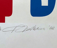 Robert Indiana, HOPE, 2008, Rare inscribed Artist's Proof