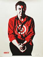 Shepard Fairey, Jasper Johns, 2009