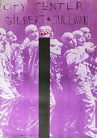 Jim Dine, Gilbert & Sullivan, 1968