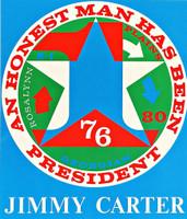 Robert Indiana, An Honest Man Has Been President, 1980   (Sheehan, 112)