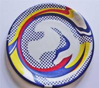 Roy Lichtenstein, Silkscreen Plate Limited Edition 1977 Cal State University Show