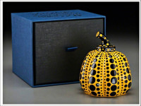 Yayoi Kusama, PUMPKIN (Artist Authorized), 2013 Yellow/Black