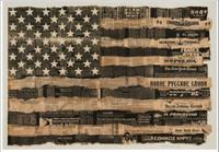 Massimo Vignelli, Melting Pot Flag, America the Melting Pot, 1989
