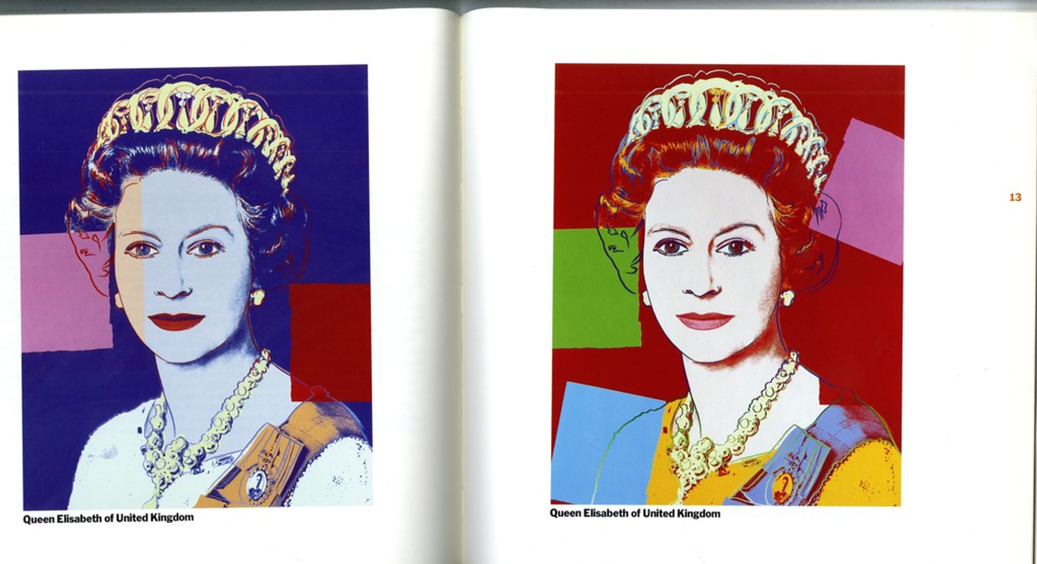 Andy WARHOL 1985 Reigning Queens Castelli Graphics Invitation