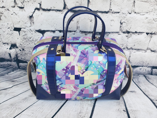 Don't F With My Serenity Zip Top Handbag