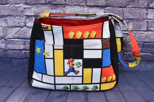 Mondrain Mario Tote Bag