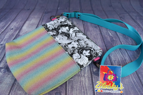 Rainbow Princesses Crossbody