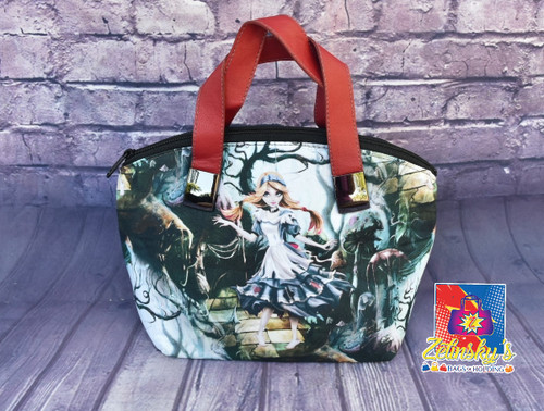 Dark Alice Dome Bag