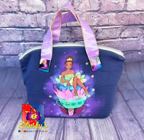 Princess Teacups Dome Bag