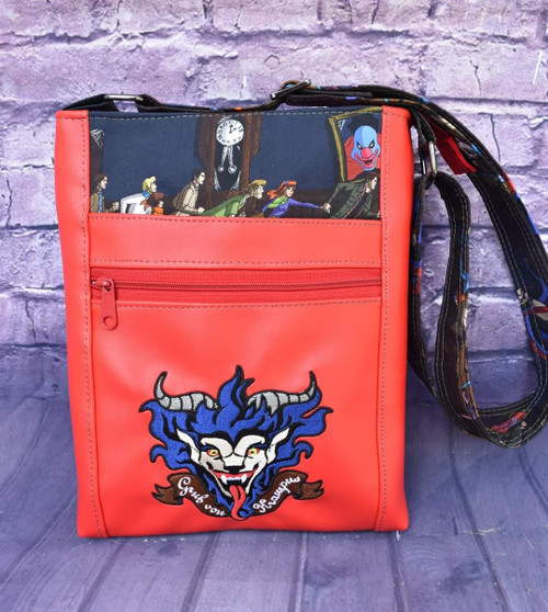 Scoobynatural Krampus Double Zip Crossbody