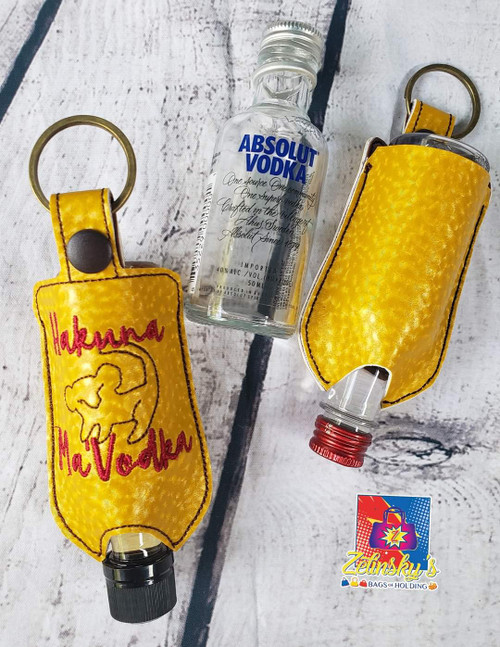 Hakuna Ma'Vodka Mini Bottle Holder