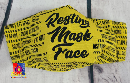 Resting Mask Face Medium Mask