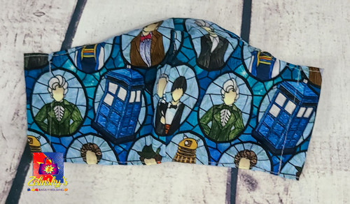 Stained Glass Doctors Large Mask