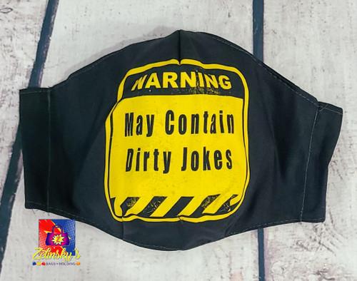 Dirty Jokes Large Mask