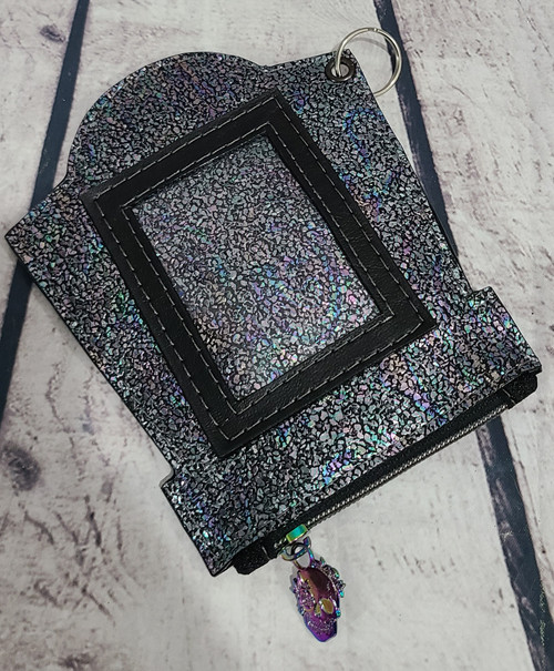 Crackled Tombstone Mori Wallet