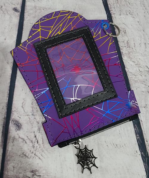 Crackled Spiderwebs Mori Wallet