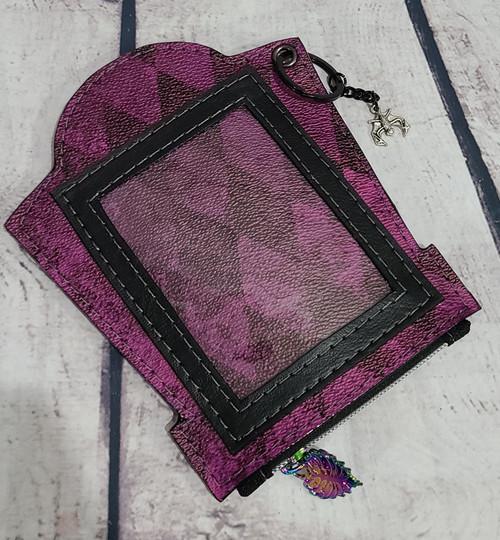Purple Harlequin Mori Wallet