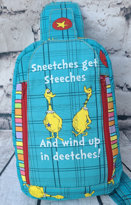 Sneetches Get Steetches Speedwell Sling Backpack
