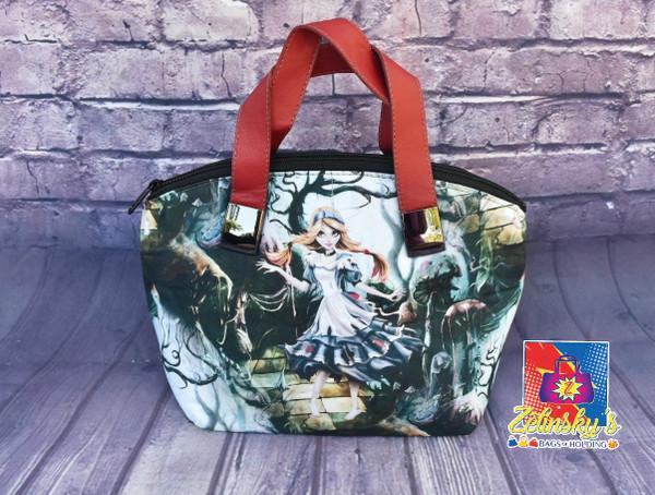 Dark Alice Dome Bag