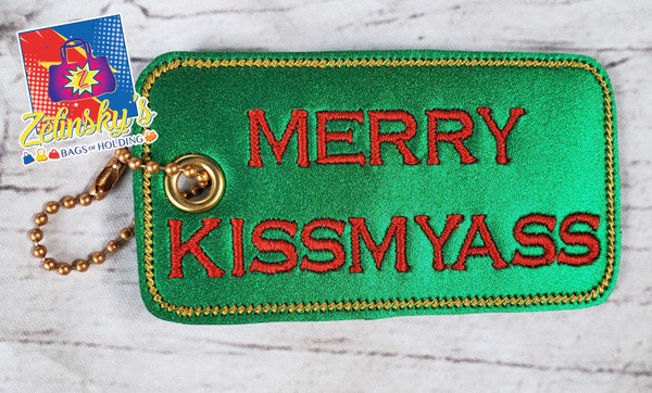 Merry Kissmyass Dangle