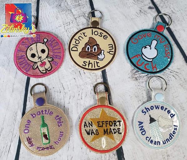 Adult Merit Badge Snaptabs