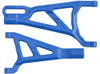 RPM Front Left A-Arms for the Traxxas Summit, Revo, and E-Revo - Blue, 70375
