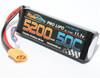 Power Hobby 11.1V 5200mAh 50C LiPo Battery w/XT90 Connector, 3S520050C