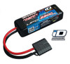 Traxxas 2200mAh 7.4V 25C Power Cell LiPo Battery w/iD Connector for 1/16, 2820X