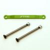 ST Racing Concepts Aluminum Hinge-Pin Brace Kit (Green), 2532XG