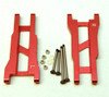 ST Racing Heavy Duty Aluminum Rear A-Arm Set with Steel Hinge-Pins - Red, 2555XR