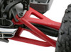 RPM Front Upper & Lower A-Arms for Traxxas 1/16th E-Revo - Red, 80699