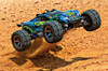 Traxxas Rustler 4X4 VXL Brushless Stadium Truck - GREEN, 67076-4