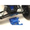 ST Racing Concepts Aluminum Hinge-Pin Brace Kit (Blue), 2532XB