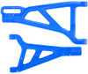 RPM Front Right A-Arms for Traxxas Revo - Blue, 80215