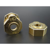 Hot Racing Heavy Metal Brass Knuckle Portal Cover for TRX-4
