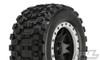 Pro-Line Badlands MX43 Pro-Loc All Terrain Tires Mounted on Impulse Pro-Loc Wheels for X-Maxx, 10131-13