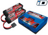Traxxas Dual 3S LiPo Battery and Charger Combo Set, 2990