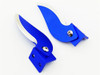 Hot Racing CNC Aluminum Turn Fins for Traxxas Spartan Boat
