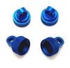 ST RACING CNC Machined Aluminum Upper Shock Caps (Blue), 3767B