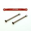 ST Racing Concepts Aluminum Hinge-Pin Brace Kit (Red), 2532XR